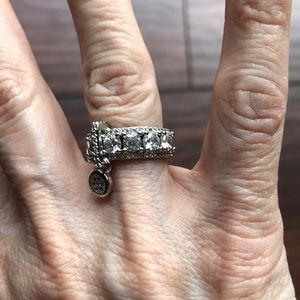 Jewelry - NWOT SS CZ RING, 5-1/2
